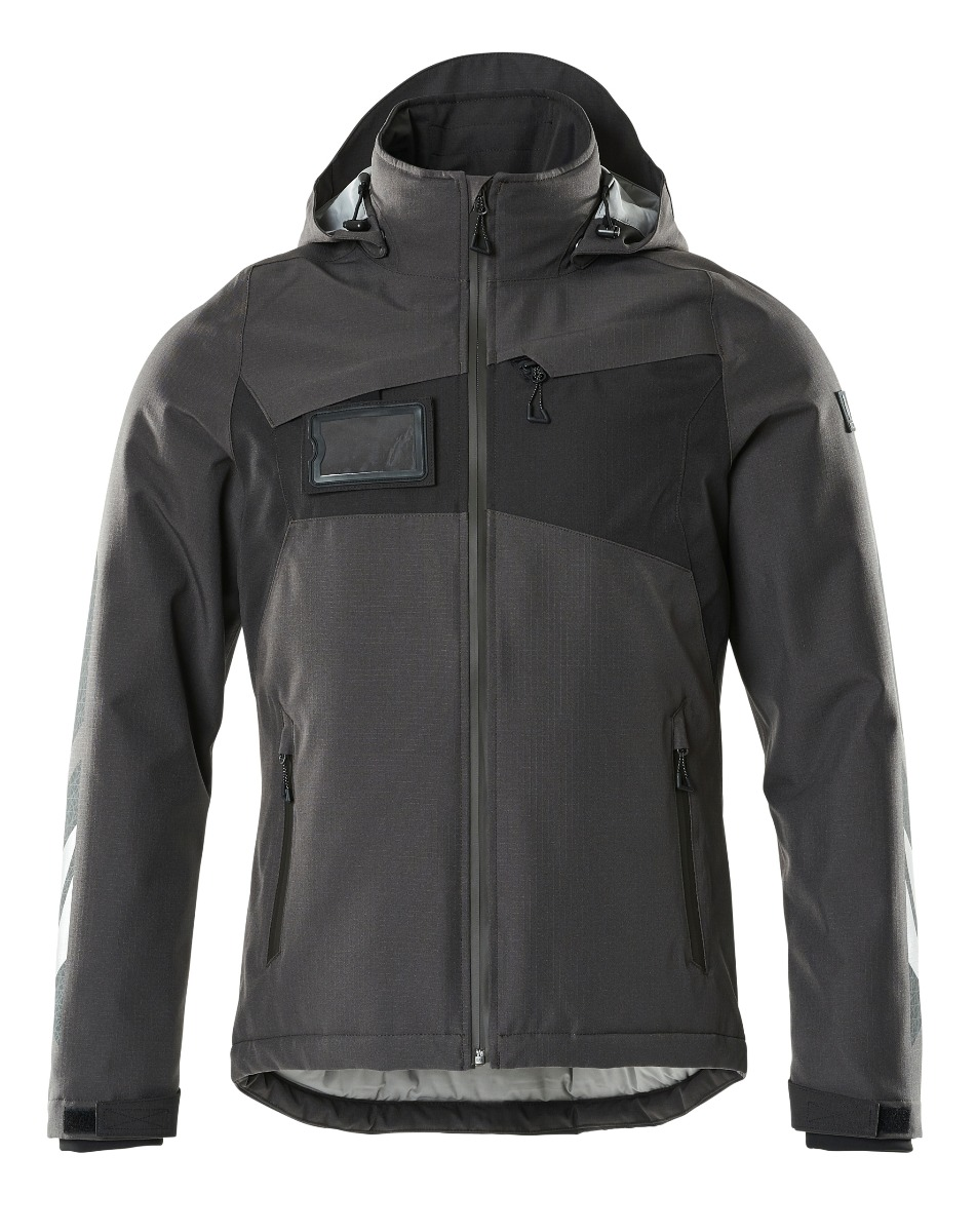 Mascot Winter Jacket with CLIMASCOT-Lining, Dark Anthracite/Black, Size L