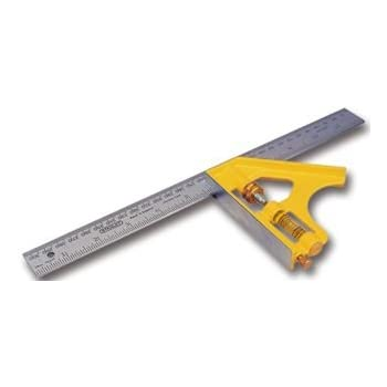 Stanley 2-46-028 Metric Diecast Combination Square, 300mm