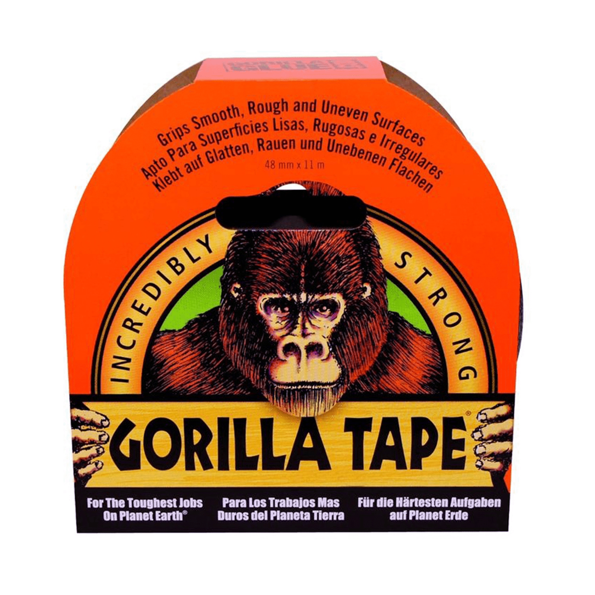 Gorilla Glue Black Tape, 48mmx11m
