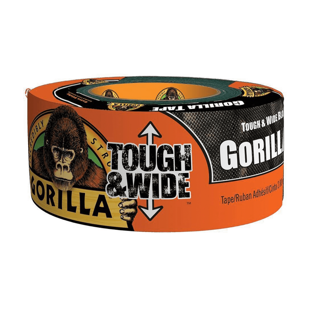 Gorilla Glue Tape, Tough and Wide, 73mmx27m