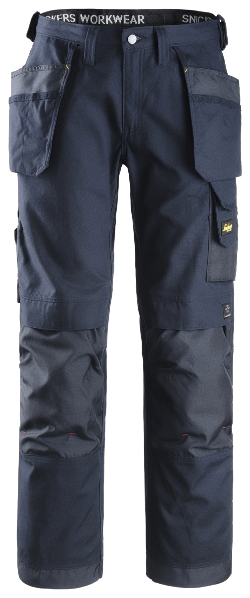 Snickers 3214 Craftsmen Holster Pocket Trousers, Navy/Navy W36/L30