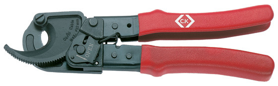 CK Tools 430007 Ratchet Cable Cutters 190mm