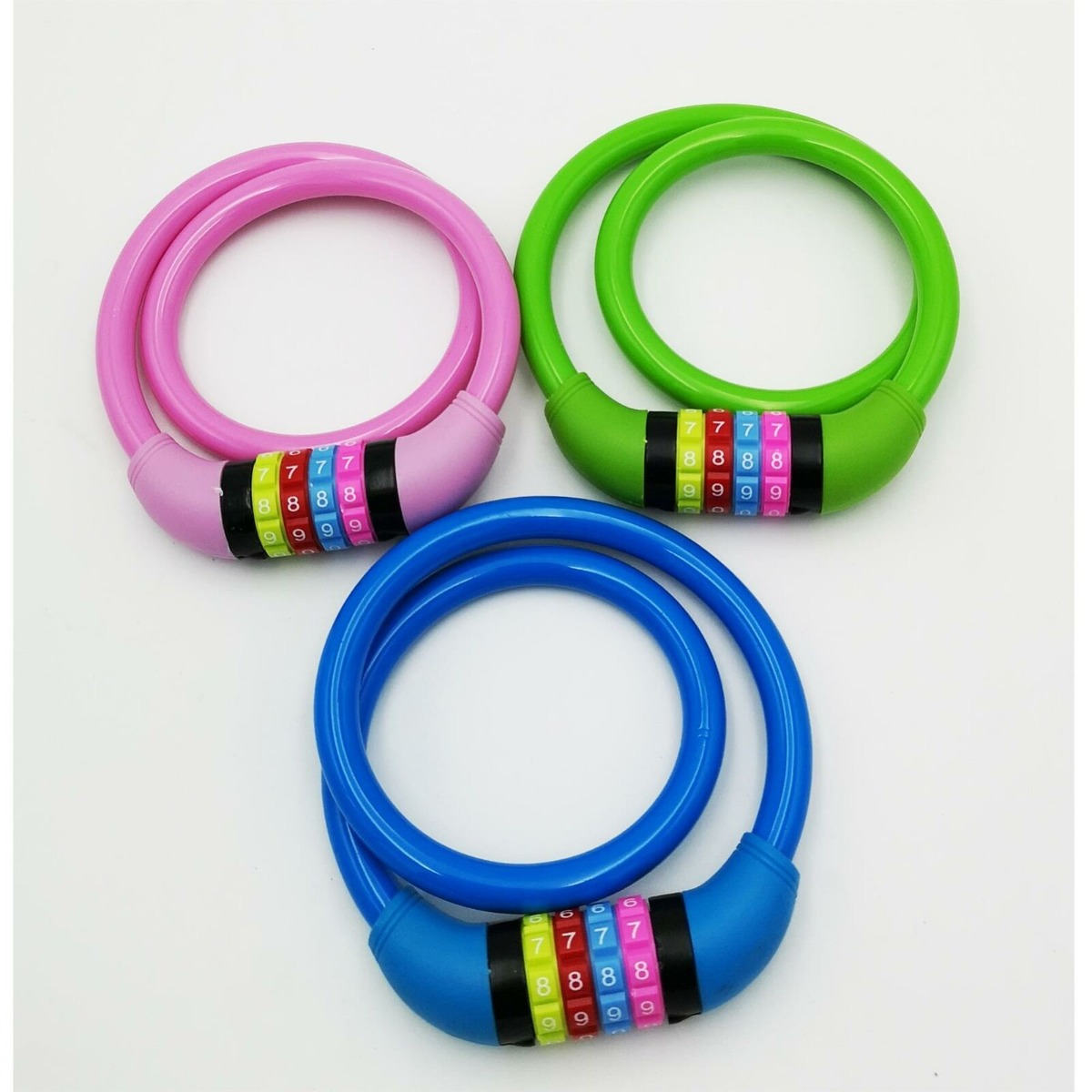 Blackspur 12mm x 650mm Colourful Combination Lock