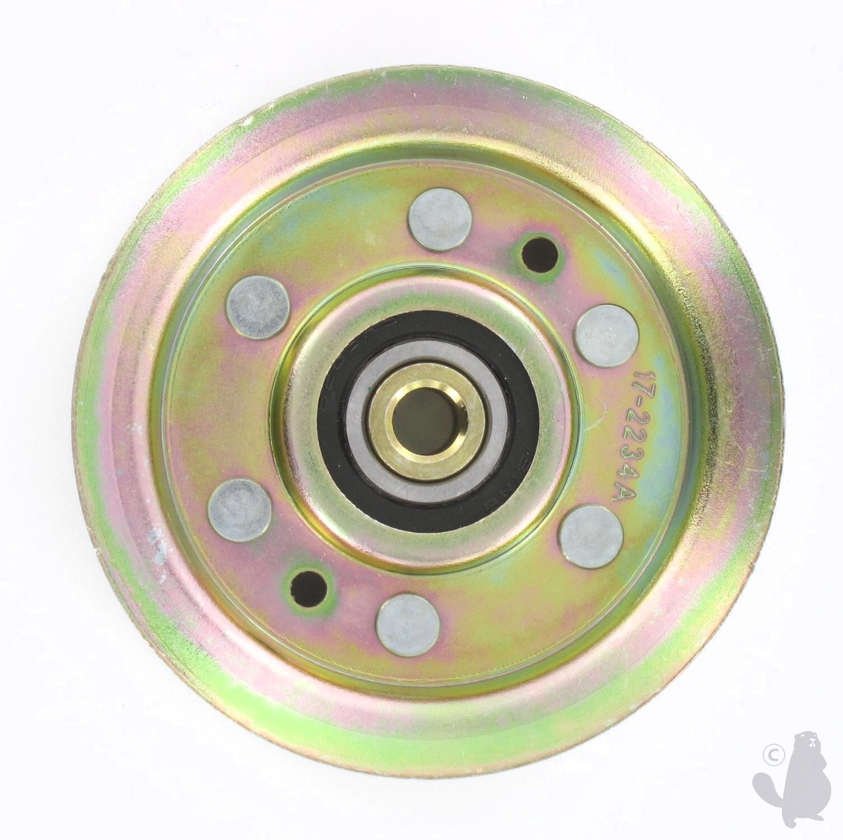 Garden Spares 6200826 Pulley Idler Flat with Bearing