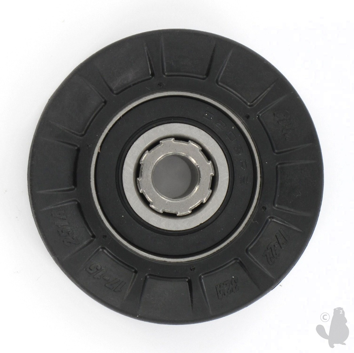 Garden Spares 6206535 Pulley V-Belt with Bearing