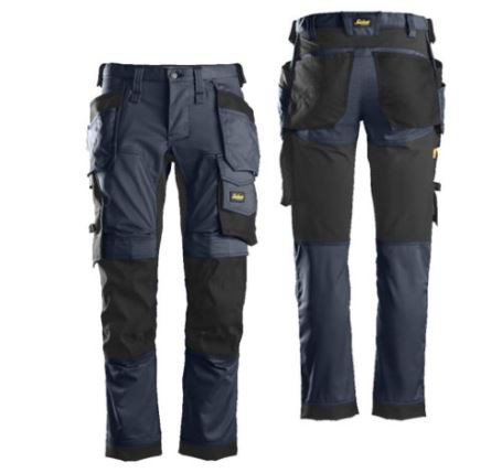 Snickers 6241 Canvas+ Work Trousers+ Holster Pockets
