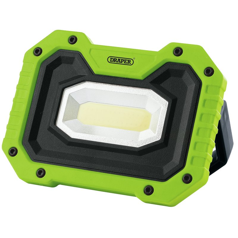 Draper 88040 Rechargeable Worklight With Wireless Speaker - Green