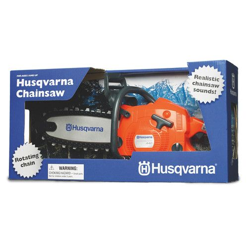 Husqvarna Toy Chainsaw, Battery Operated