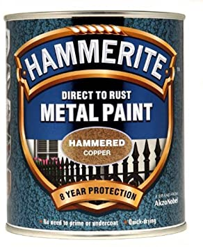 Hammerite 5092964 Hammered Copper Metal Paint 750ml