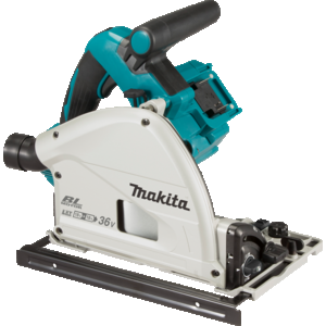 Makita DSP600ZJ Twin 18V Cordless Plunge Saw 165mm - Body Only
