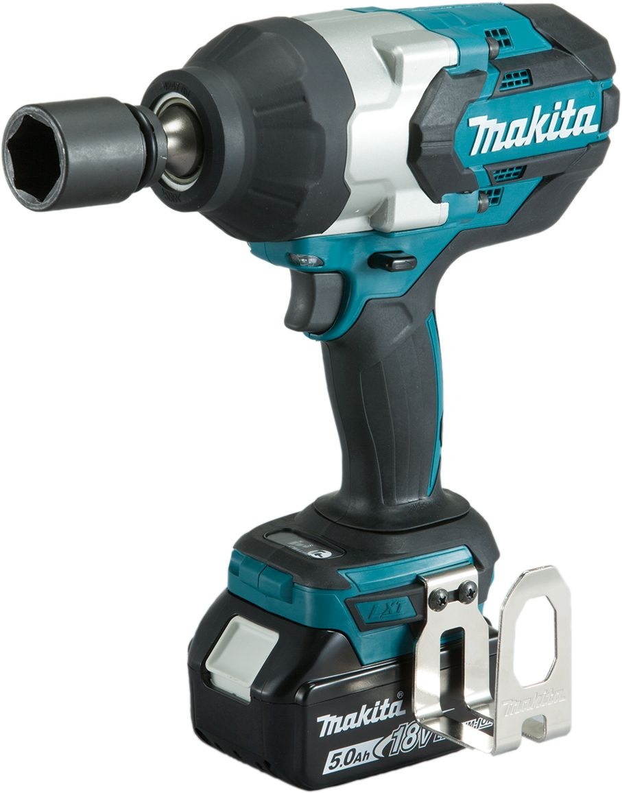 Makita DTW1001RTJ 18v LXT Brushless Impact Wrench 2x 5.0Ah