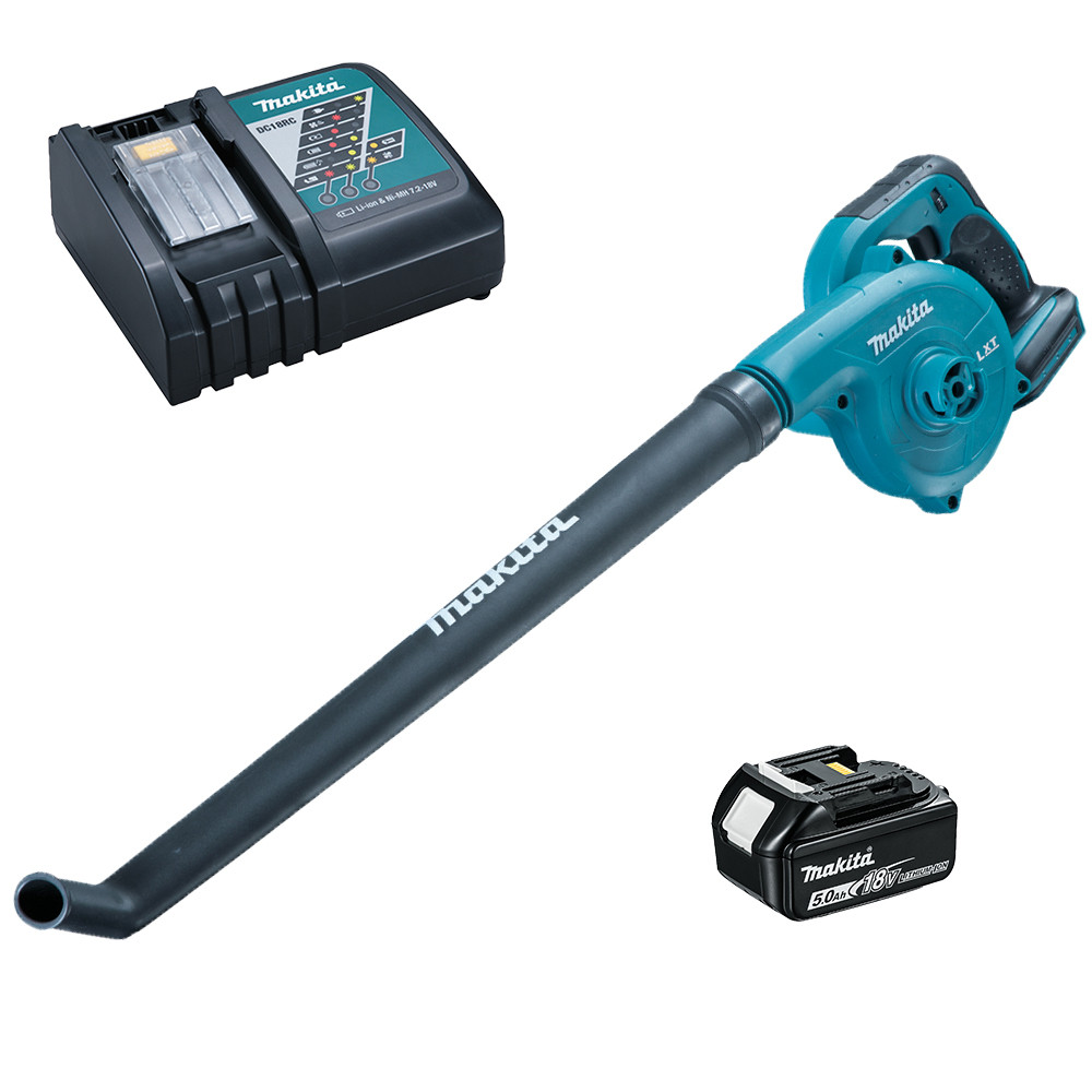 Makita DUB183 Single 18v Leaf Blower - 1 x 5.0Ah + Charger