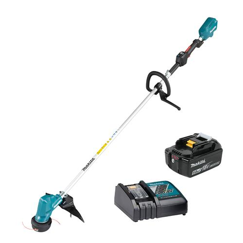 Makita DUR190 Strimmer with 1 x 5.0Ah Battery and Charger