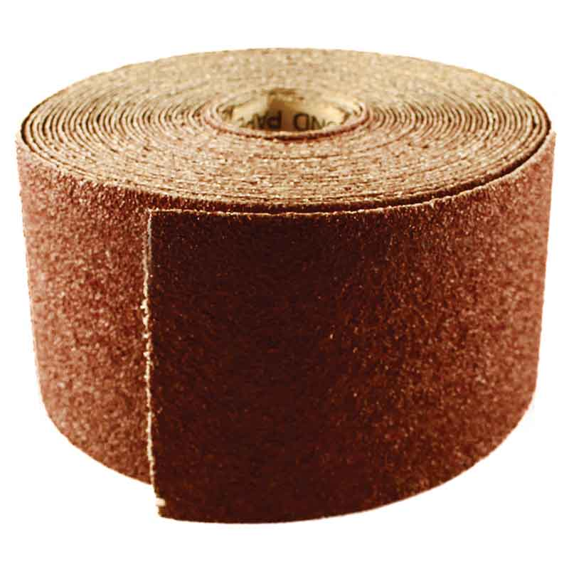 Abracs Sandpaper Roll, 115mm x 10M, 60 Grit