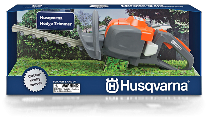Husqvarna Toy Hedge Trimmer, Battery Operated
