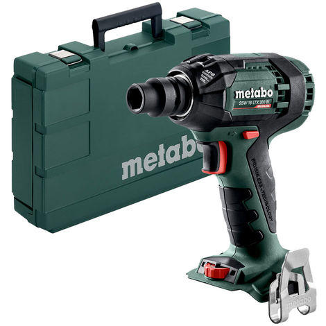 """Metabo SSW 18 LTX 300 1/2"""" Impact Wrench, Body Only"""