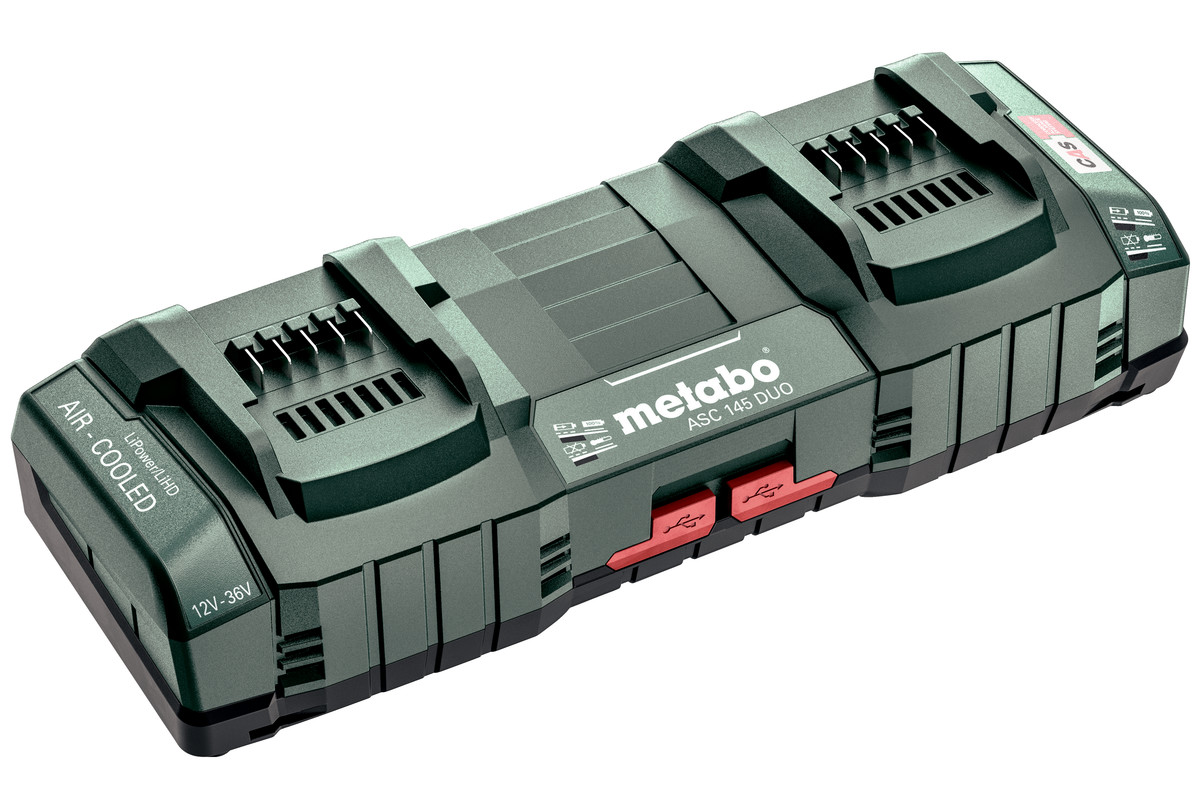 Metabo ASC 145 DUO Twin Port Charger