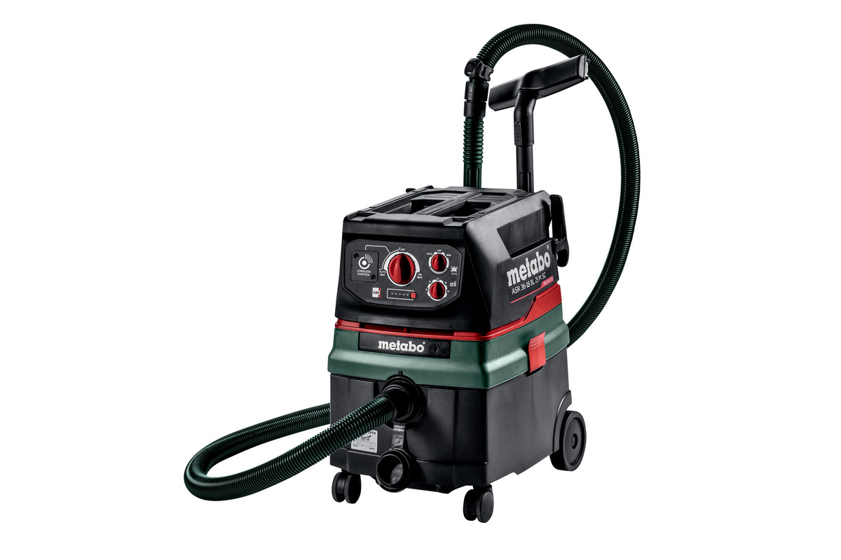 Metabo ASR 36-18 BL 25 M SC Twin 18v M-Class Vacuum Cleaner - Bare Unit