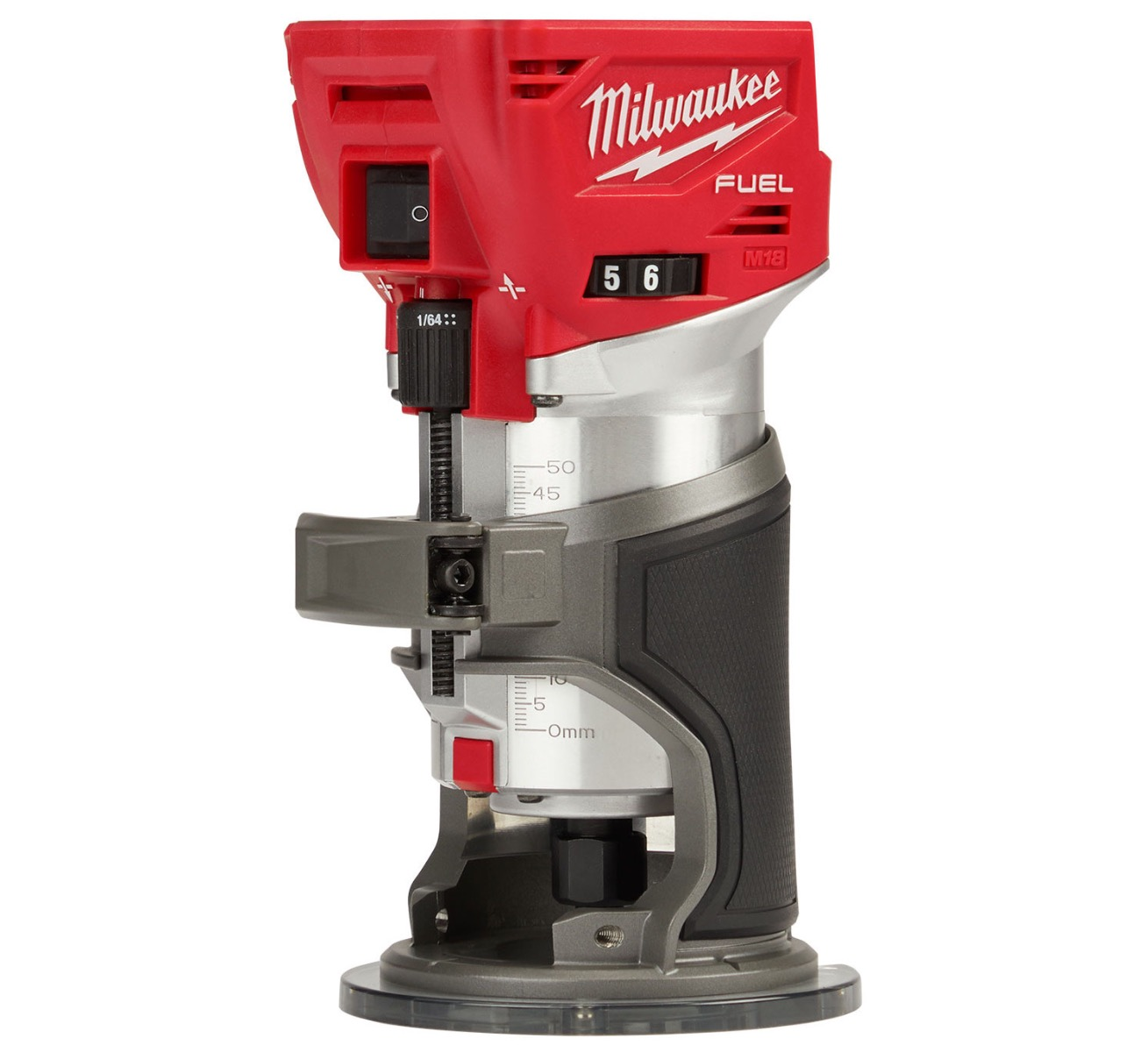 Milwaukee M18FTR-0X M18 18v Router, Carry Case, Body Only