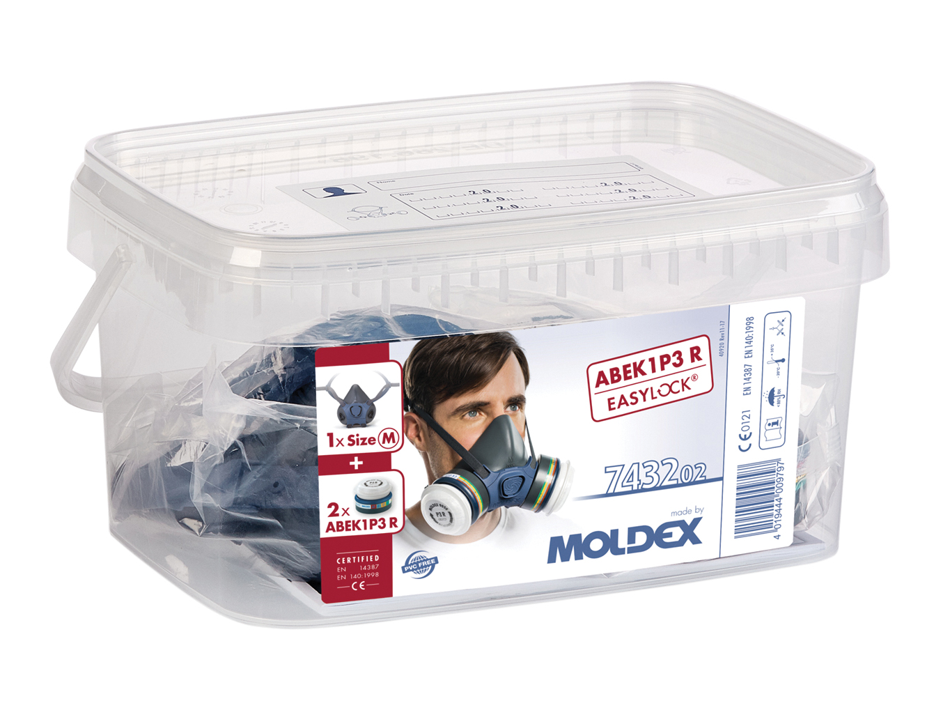Moldex 7000 Ready Pack with Filters