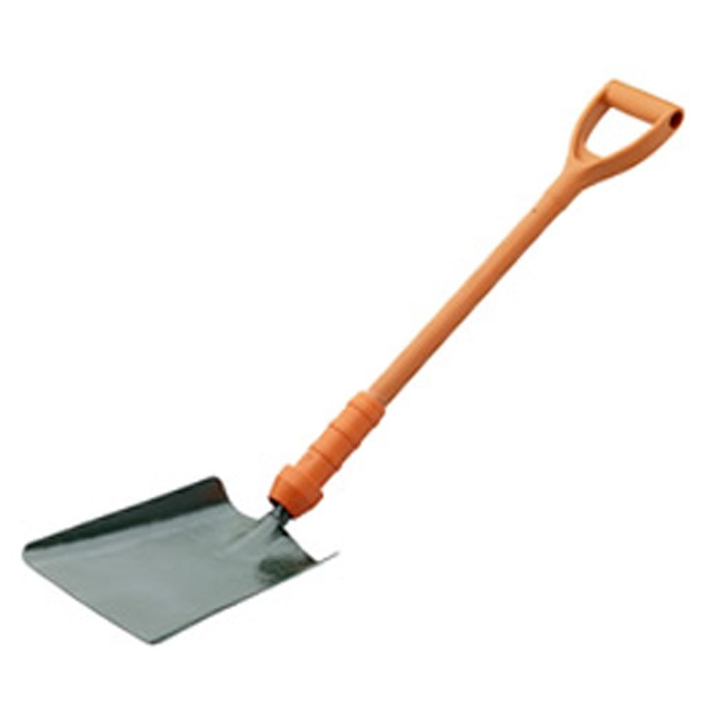 "Bulldog PD5SM2IN Power Breaker Insulated Square Mouth Shovel 28"", No.2"