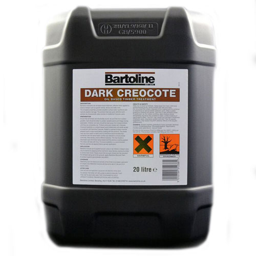 Bartoline Creacote Dark Brown, 20L