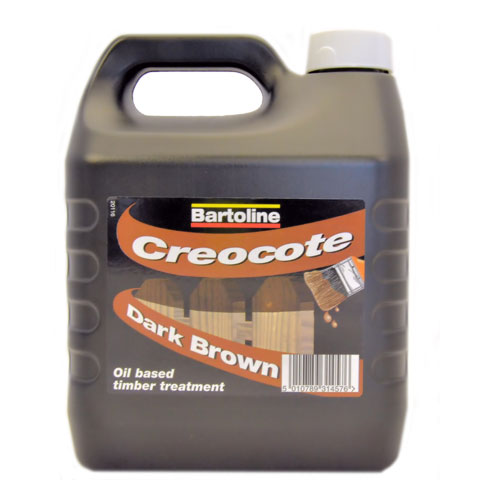 Bartoline Creacote Dark Brown, 4L
