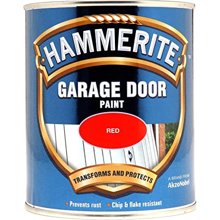 Hammerite 5092824 Smooth Red Metal Paint 750ml