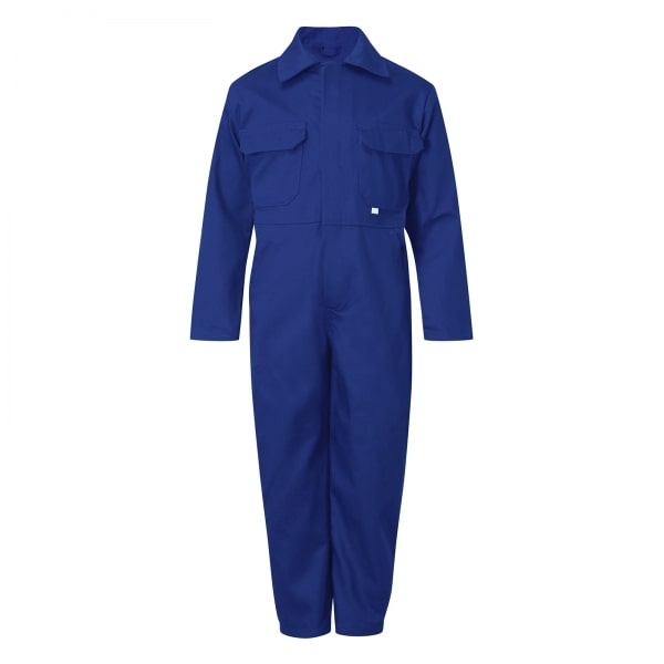 Castle Clothing Kids Overall, Royal Blue, Age 11-12