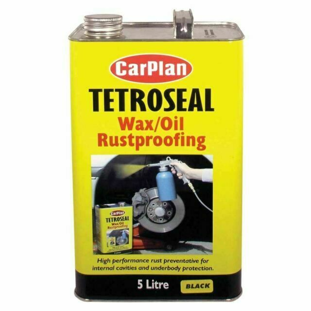 CarPlan Tetroseal Wax/Oil Rustproof Black 5L