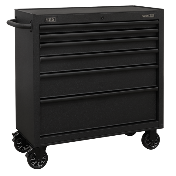 Sealey AP3606BE Rollcab 6 Drawer 915mm with Soft Close Drawers