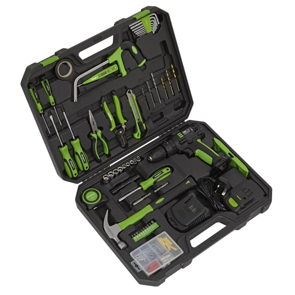 Sealey S01224 Tool Kit with Cordless Drill 101 Piece