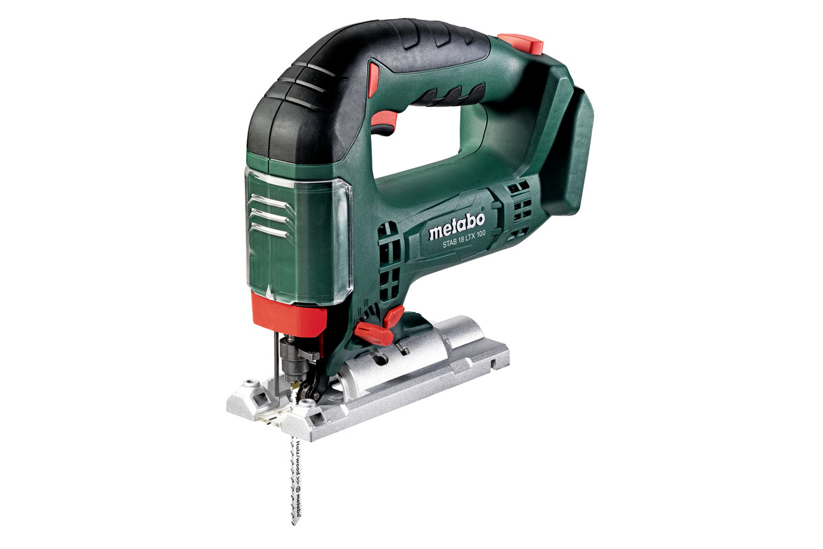 Metabo STAB 18 LTX 100, Bow Handle Jigsaw, Body Only