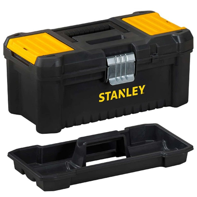 Stanley STST1-75518 Essential Toolbox with Metal Latch, 16''