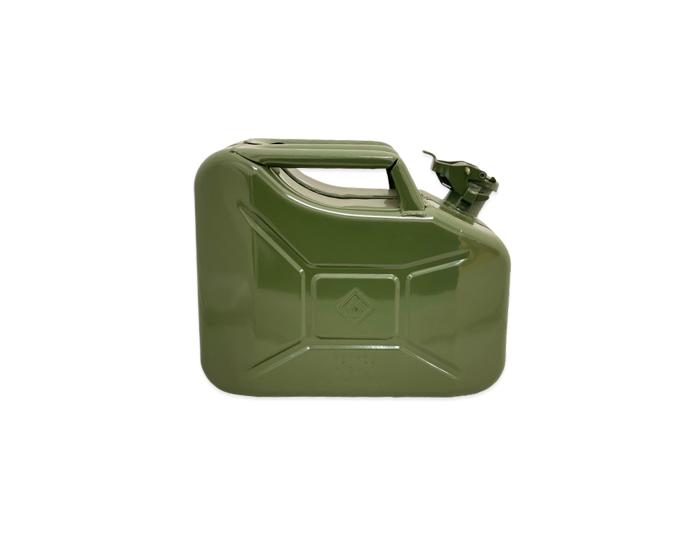 Paddy Hopkirk Green Metal 10L Jerry Can