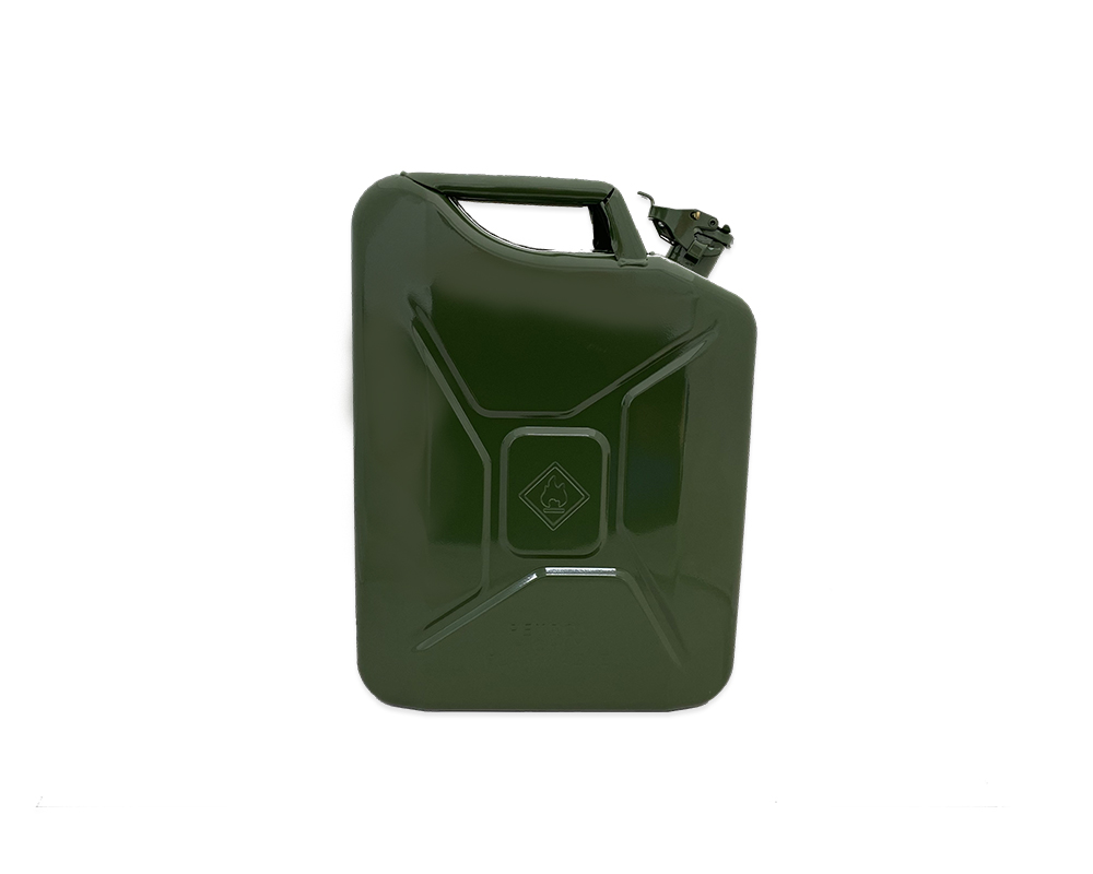 Paddy Hopkirk Green Metal 20L Jerry Can