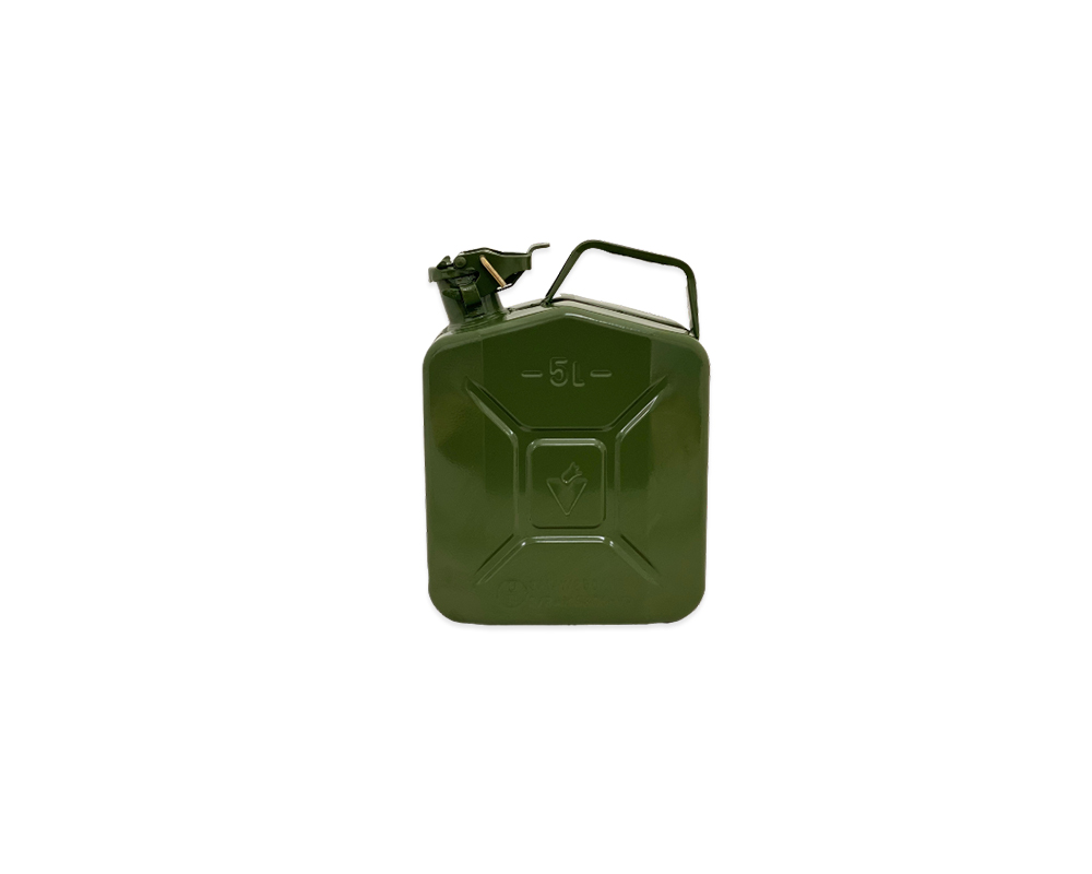 Paddy Hopkirk Green Metal 5Ltr Jerry Can