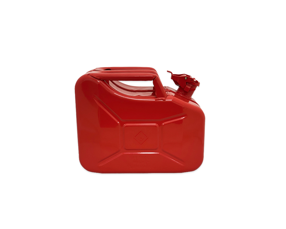 Explosafe Red Metal 10Ltr Jerry Can