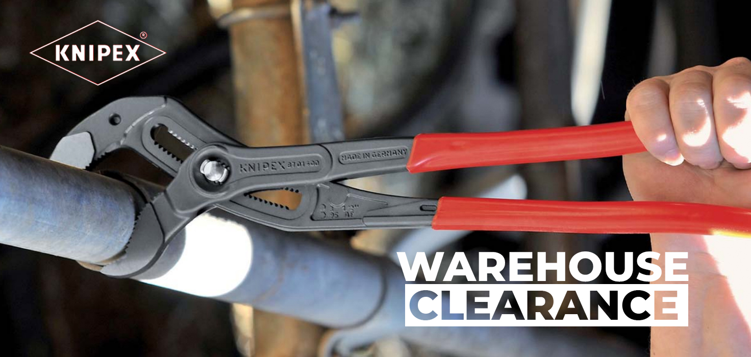 Knipex Clearance Banner